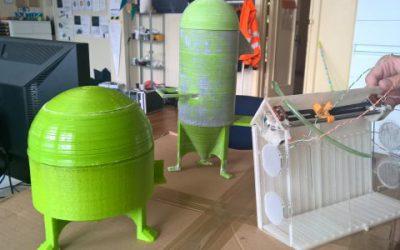 Žemės ūkio universiteto startuoliui kūrėme sraiges auginančios automatinės sistemos modelį