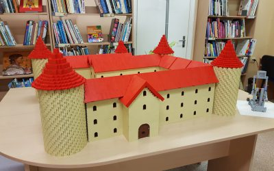 LEGO legendos Klaipėdos bibliotekoje